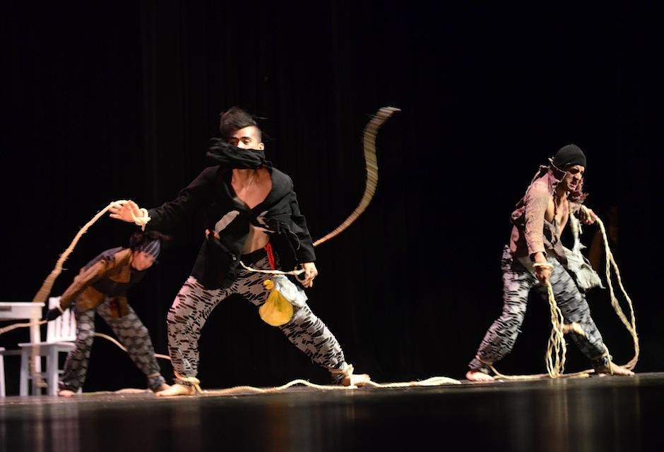 Más de 28 bailarines y 6 actores realizaron esta puesta en escena. (Foto: Selene Mejía/Soy502)