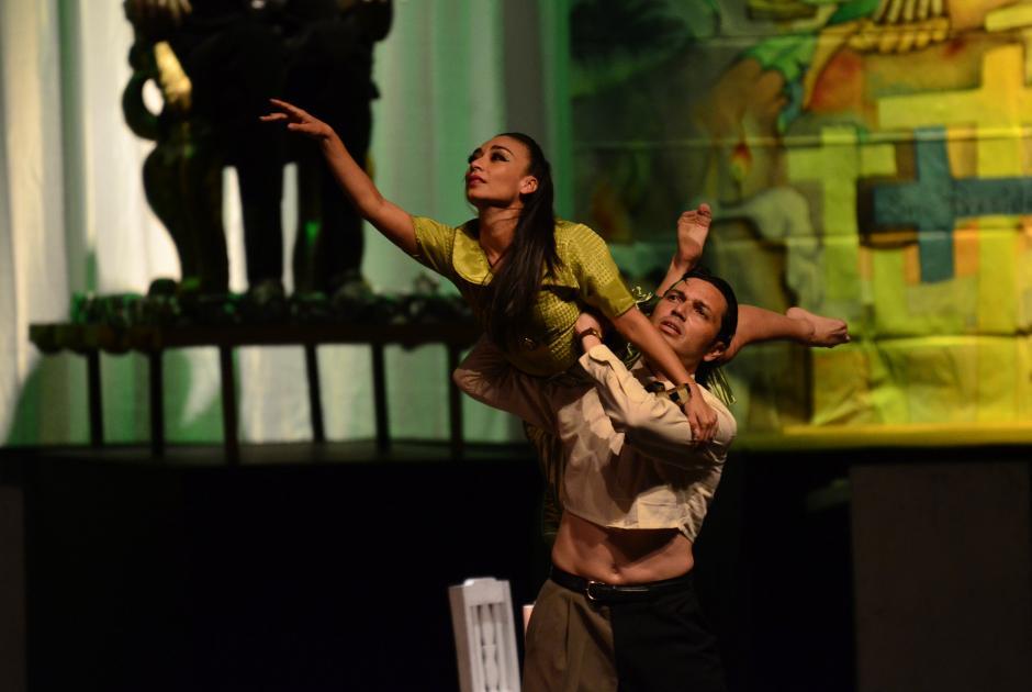 """""""El señor Presidente"""" en danza contemporánea llevó un año de preparación. (Foto: Selene Mejía/Soy502)"""