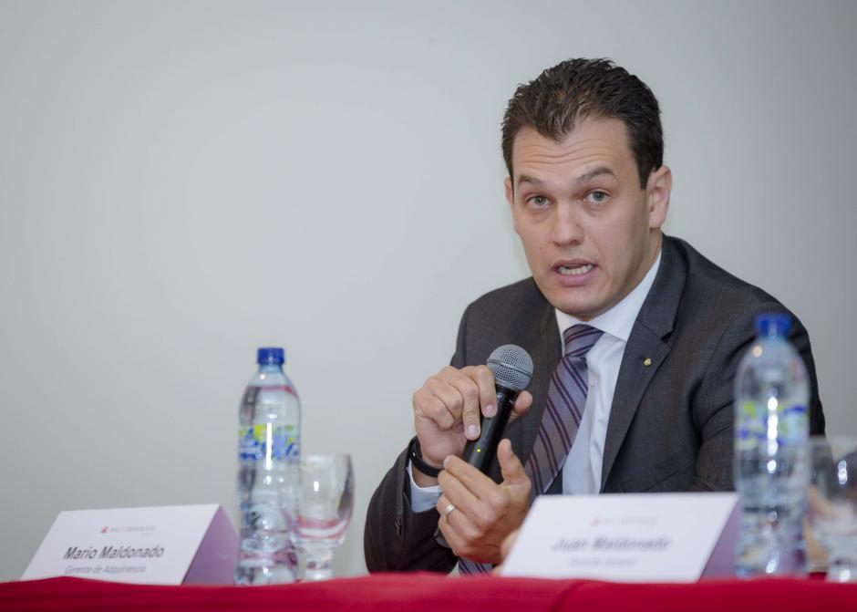 Mario Maldonado, gerente de adquiriencia de BAC Credomatic, comentó sobre la implementación del sistema en Guatemala. (Foto: George Rojas/Soy502)