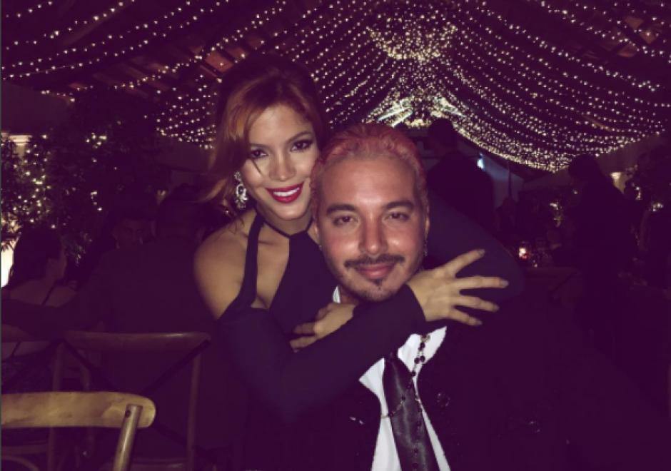 Carolina y J Balvin tiene una buena relación de hermanos. (Foto: Instagram)