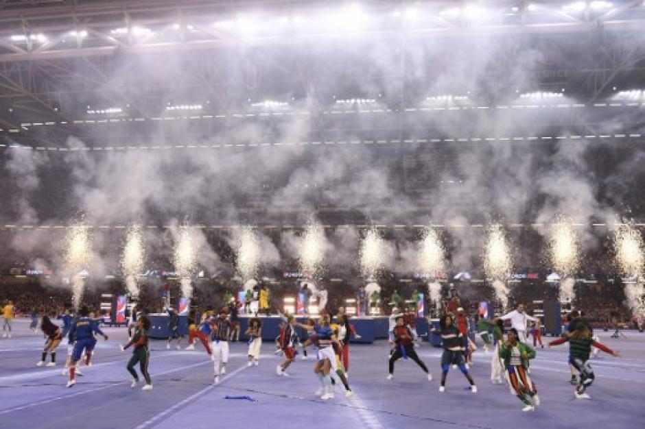 Black Eyed Peas puso a bailar a los más de 75 mil asistentes. (Foto: AFP)