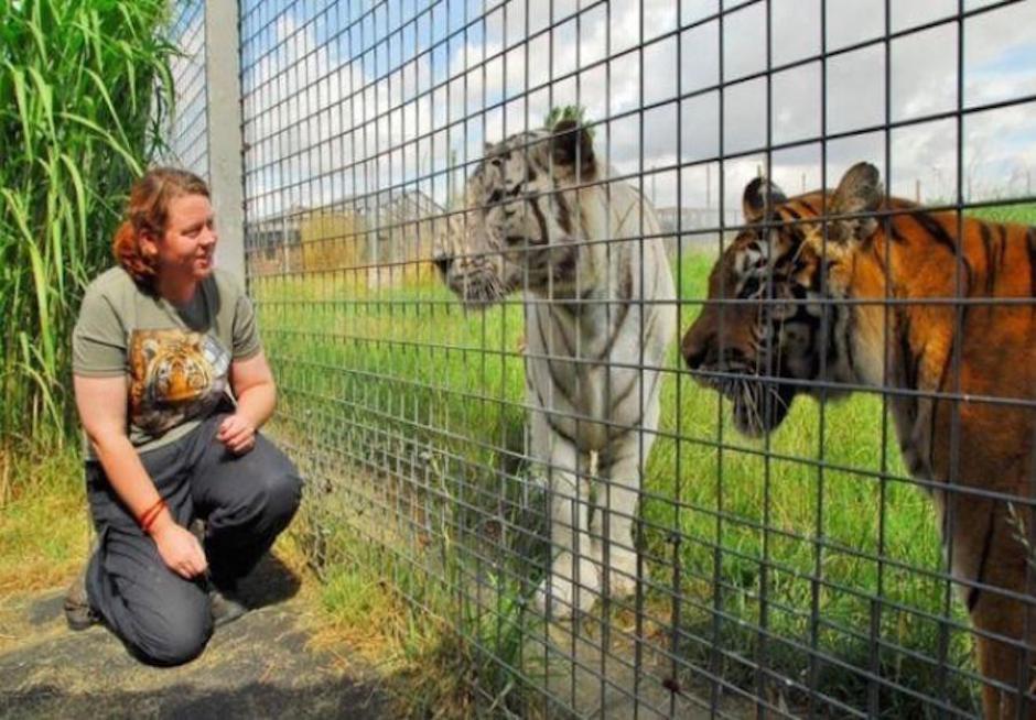 Rosa King trabajó durante 14 años en el Hamerton Zoo Park (Foto: midiario.com)