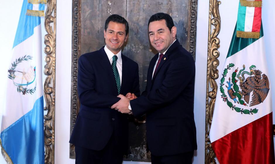 El presidente Peña Nieto se encuentra de visita de Estado a Guatemala. (Foto: Gobierno)