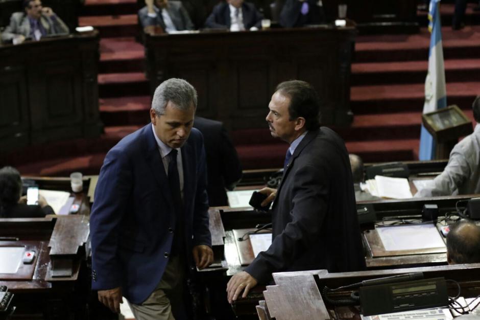 La solicitud incluye a los diputados Christian Boussinot y Juan José Porras. (Foto: Alejandro Balán/Soy502)