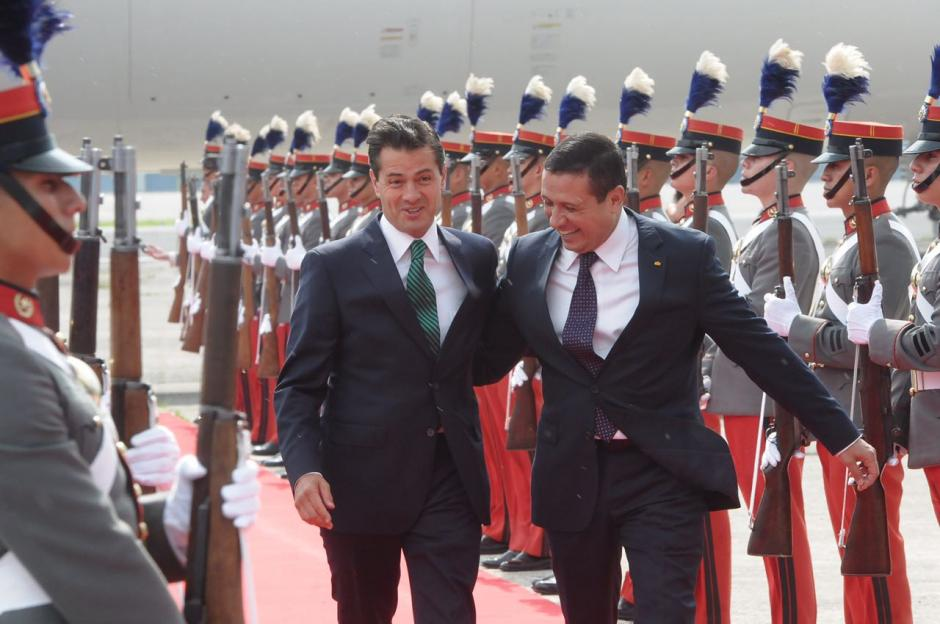 El mandatario mexicano llegó Guatemala. (Foto: Jesús Alfonso/Soy502)