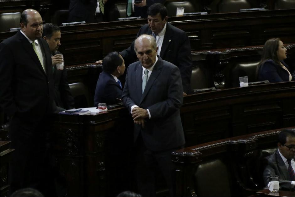 Mario Taracena está incluido en la solicitud de información del MP. (Foto: Alejandro Balán/Soy502)