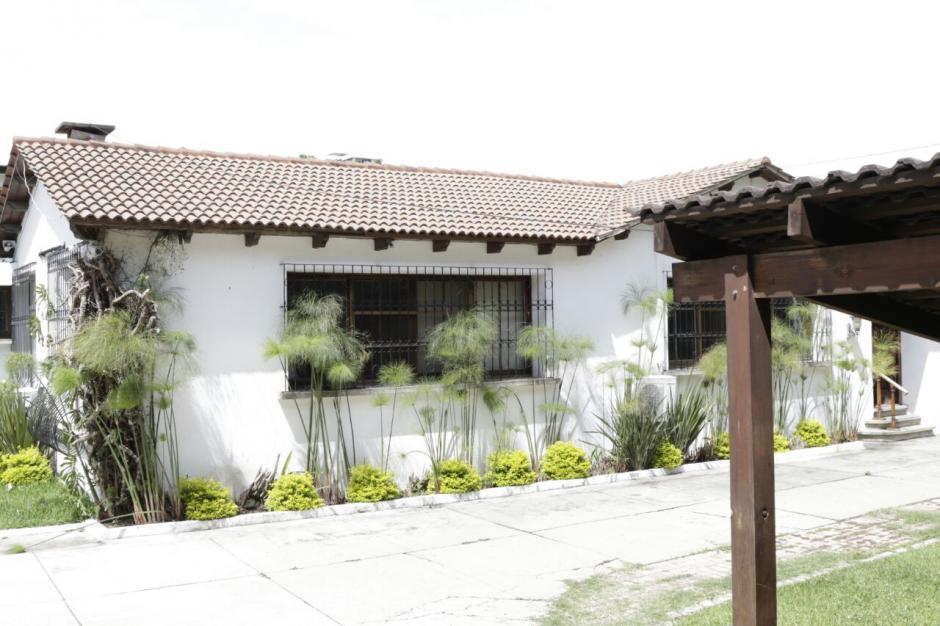 Esta es la propiedad donde se hacen allanamientos. (Foto: Alejandro Balán/Soy502)