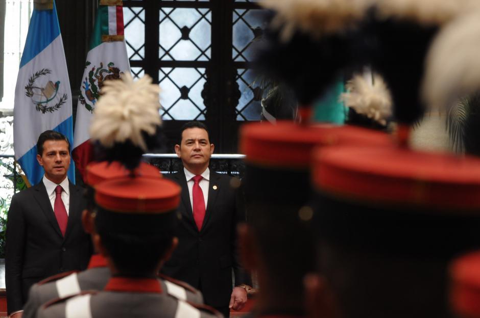 El presidente Enrique Peña Nieto tuvo una agenda corta pero intensa. (Foto: Jesús Alfonso/Soy502)
