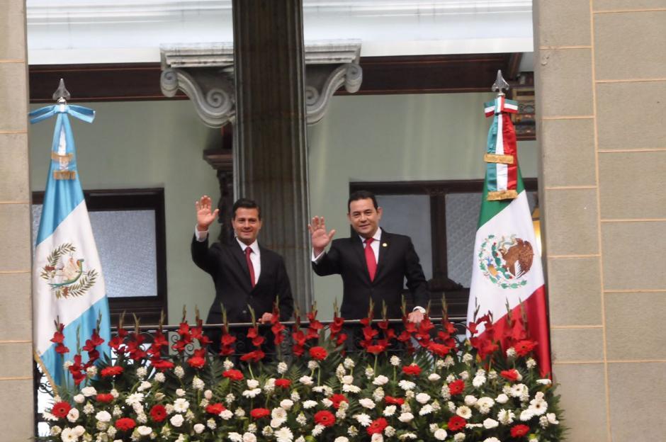 El mandatario mexicano se encuentra en Guatemala desde el lunes. (Foto: Jesús Alfonso/Soy502)