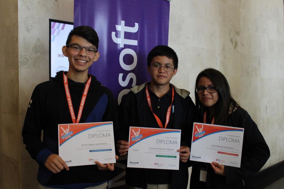 Todos los concursantes recibieron diploma de participación. (Foto: Andrea Castillo/Soy502)