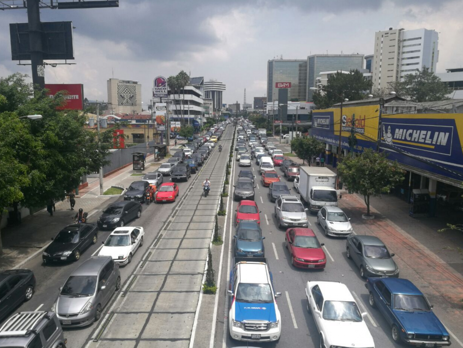 El tráfico en el lugar es lento. (Foto: Cortesía Julio Sosa)