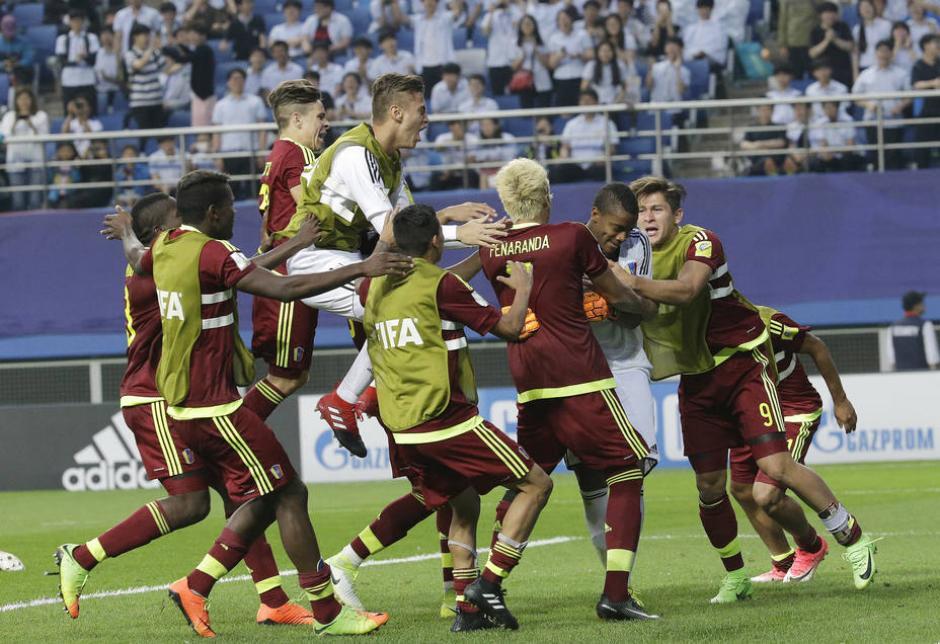 La selección venezolana hizo historia en la historia de la competición mundialista. (Foto: El Universal)