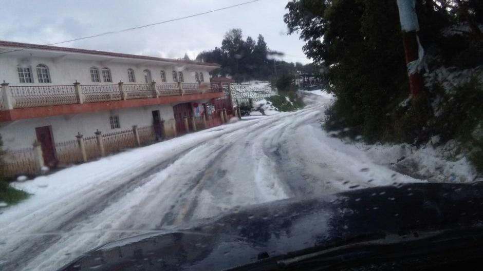 Quetzaltenango, Quiché y San Marcos han vivido el fenómeno. (Foto: Lucero Sapalú/Nuestro Diario)