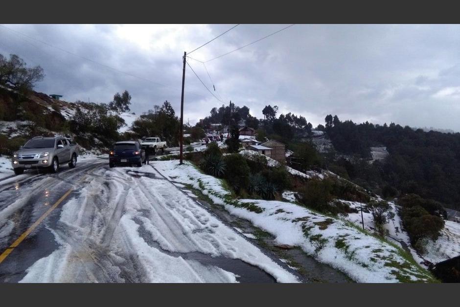 Quetzaltenango fue uno de los últimos departamentos sorprendidos con este fenómeno. (Foto: Lucero Sapalú/Nuestro Diario)