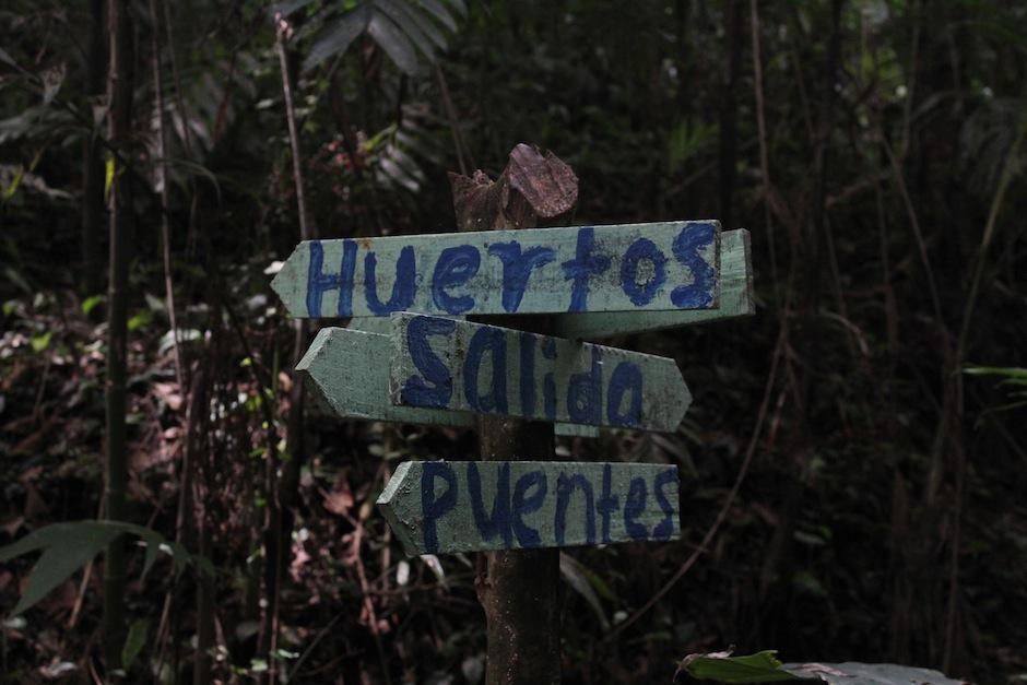 El lugar ya cuenta con algunas señalizaciones. (Foto: Andrea Castillo/Soy502)