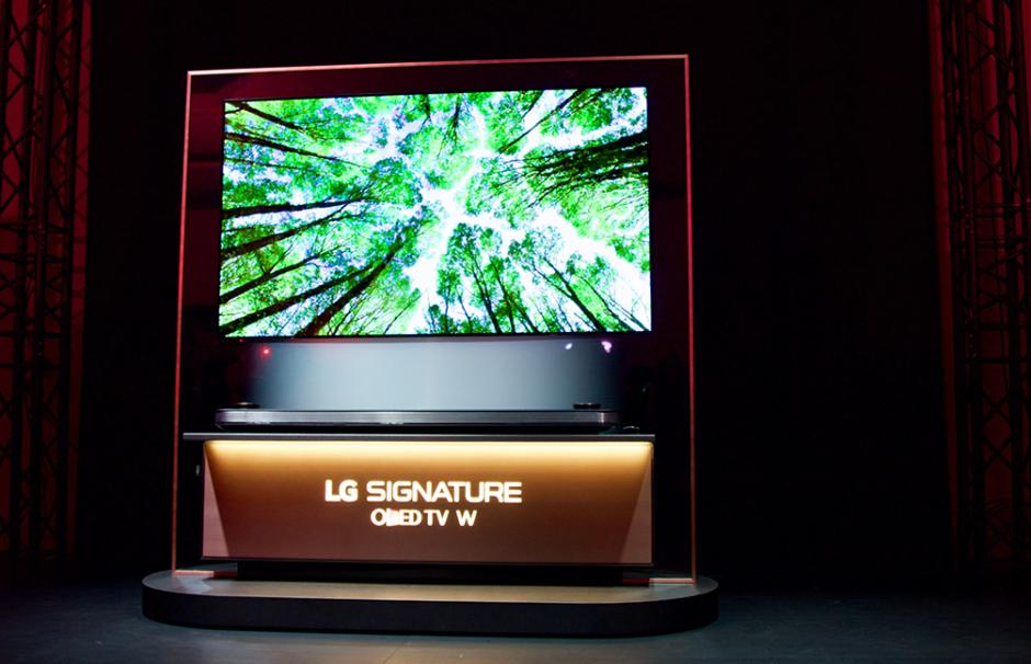 El nuevo Televisor OLED TV 4K fue uno de los productos más premiados en el CES 2017. (Foto: Magui Medina/Soy502)