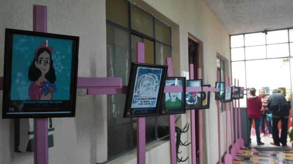 La exhibición podrá ser visitada por los guatemaltecos en la sede de Fundación Sobrevivientes. (Foto: Marcia Zavala/Soy502)
