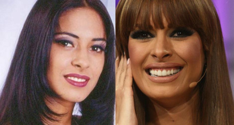 El antes y el ahora de Galilea Montijo. (Foto: Twitter)