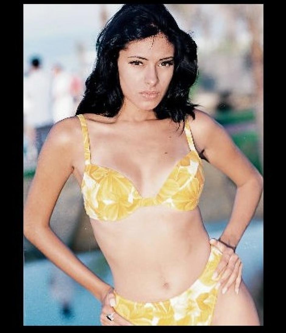 Galilea Montijo fue modelo antes de llegar a ser conductora. (Foto: Twitter)