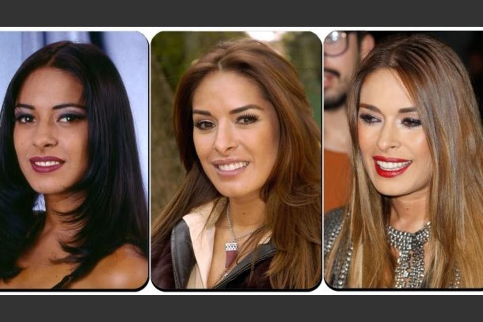 El antes y el ahora de la bella Galilea Montijo. (Foto: Twitter)