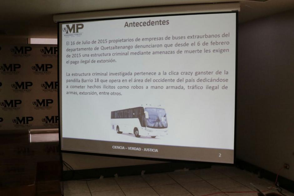 Los delincuentes hirieron a varias de sus víctimas para obligarlas a pagar. (Foto: Alejandro Balán/Soy502)