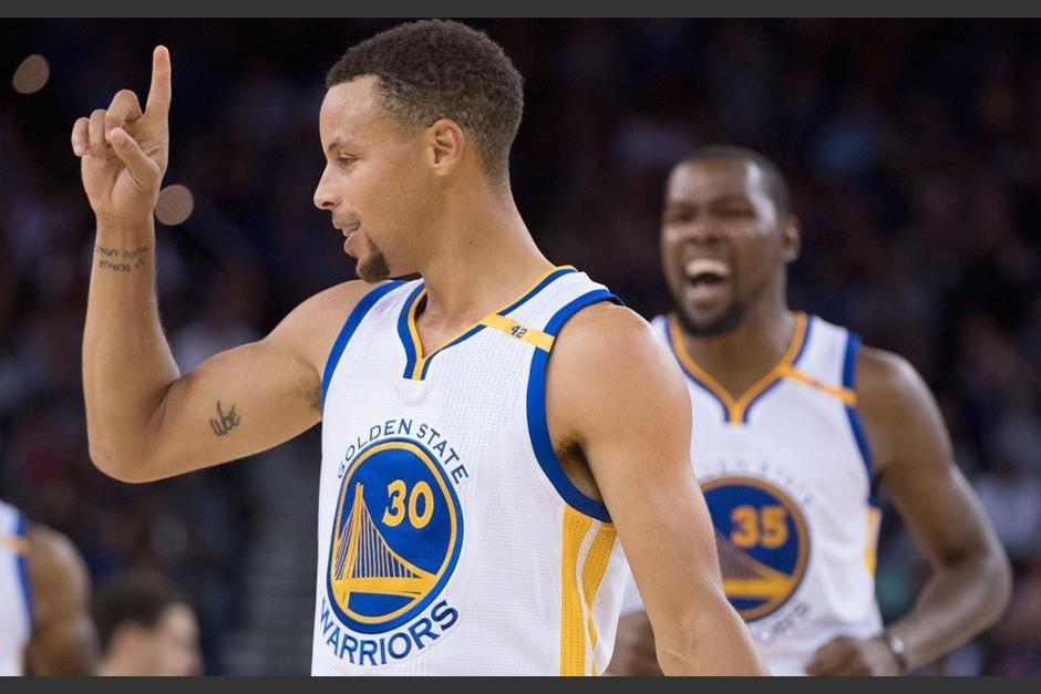 Curry y compañía doblegaron a los Cavaliers. (Foto: NBA)