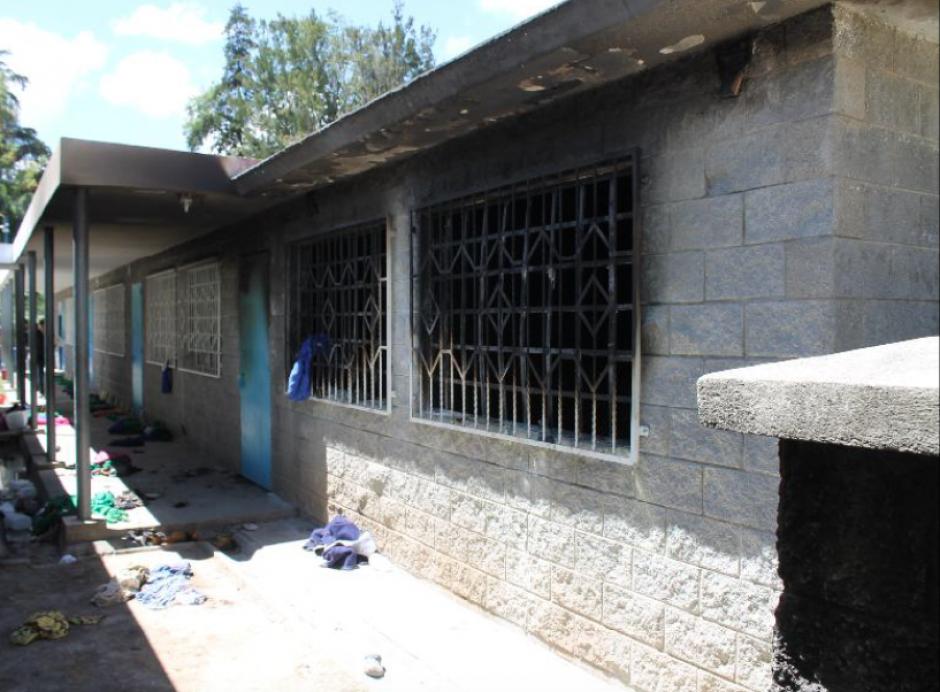 Nueve minutos habría durado el incendio en un salón del Hogar Seguro Virgen de la Asunción que causó la muerte de 41 menores. (Foto: MP)