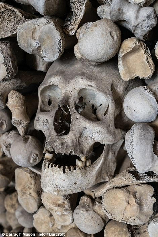 Los huesos corresponden a pobladores de los siglos XII y XV. (Foto: Darragh Mason Field)