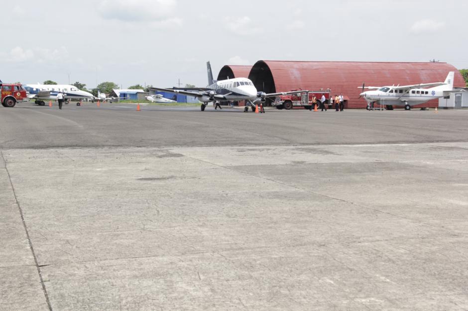 La habilitación del aeródromo de Retalhuleu podría abrir una ruta entre Chiapas y ese departamento. (Foto: Fredy Hernández/Soy502)