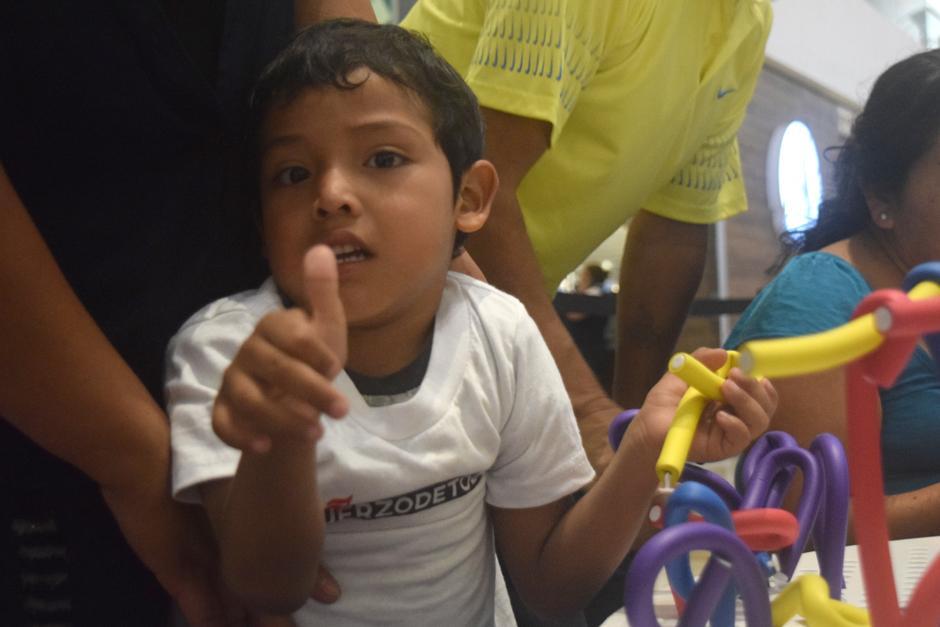 Quince niños disfrutaron de la Flexi Zone. (Foto: Vivian Nij/Soy502)