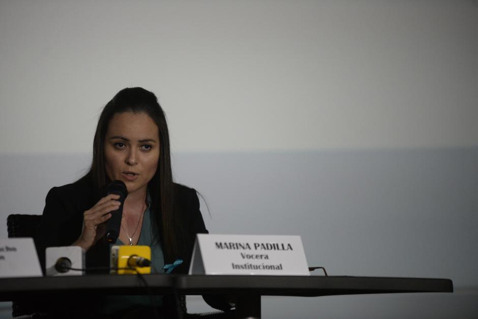 Marina Padilla, vocera de Arkadia, aseguró que el centro comercial repudia los hechos ocurridos. (Foto: Wilder López/Soy502)