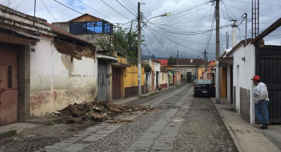 El reporte oficial registra 45 viviendas afectadas. (Foto: Stereo 100)