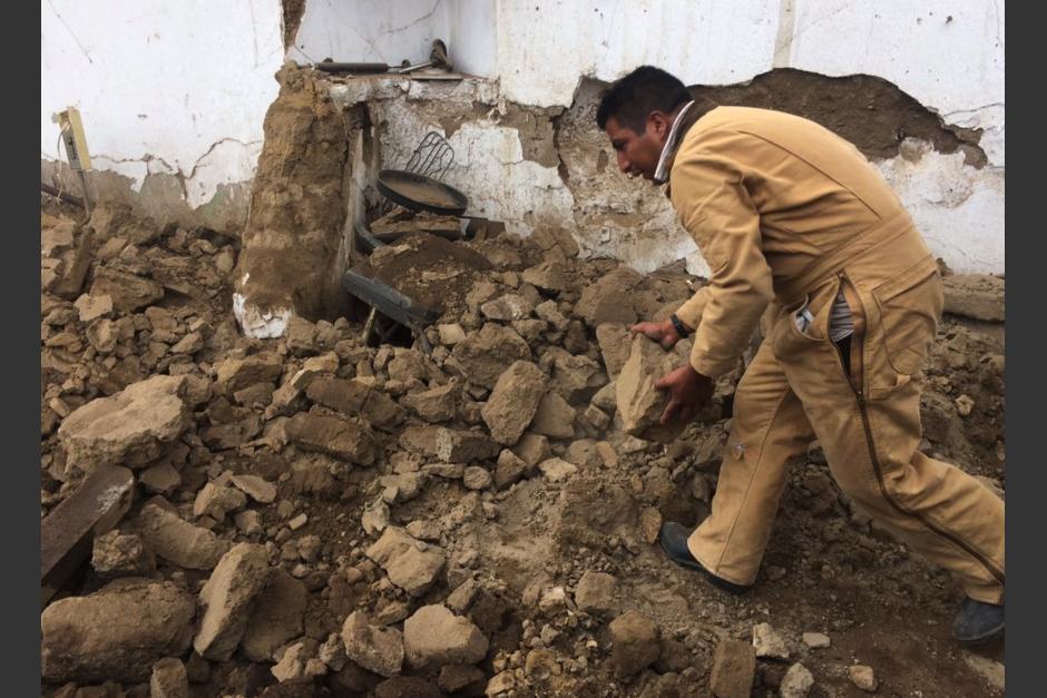 Varios inmuebles presentan daños tras el sismo. (Foto: Stero 100)