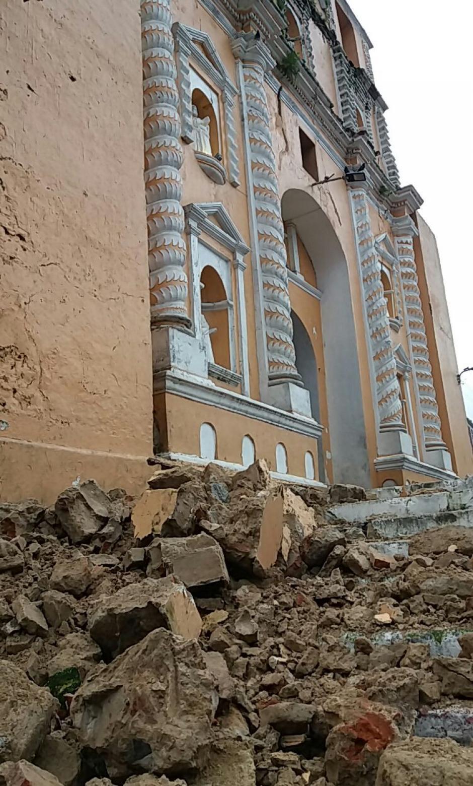 Estos son los daños ocasioados en Samayac, Suchitepéquez. (Foto: Periódico La Razón)