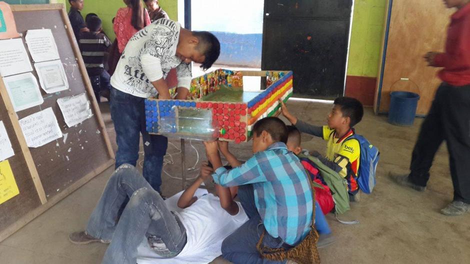 El futillo se construyó en dos mañanas en una semana dedicada a proyectos ecológicos. (Foto: Romeo Chamam)