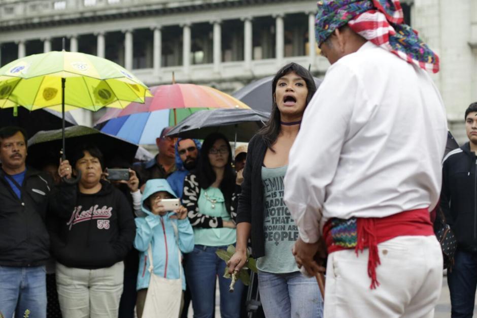 El homenaje se realizó en la Plaza de la Constitución. (Foto: Alejandro Balán/Soy502)