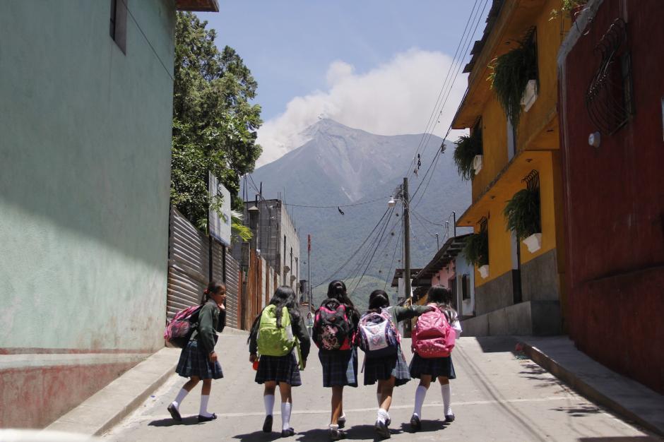 El volcán de Fuego está entre los trece más visitados. (Foto: Fredy Hernández/Soy502)