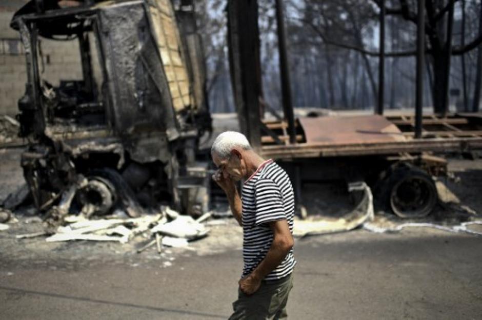 Entre las víctimas mortales se encuentran ocho bomberos. (Foto: AFP)