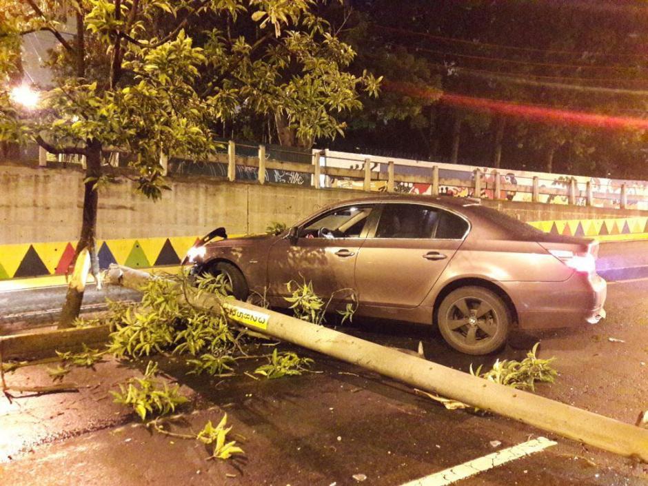 El accidente se reportó en la madrugada. (Foto: Amilcar Montejo/PMT)