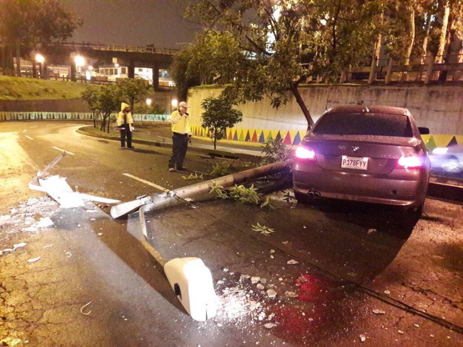 En la madrugada se reportó el accidente. (Foto: Amilcar Montejo/PMT)
