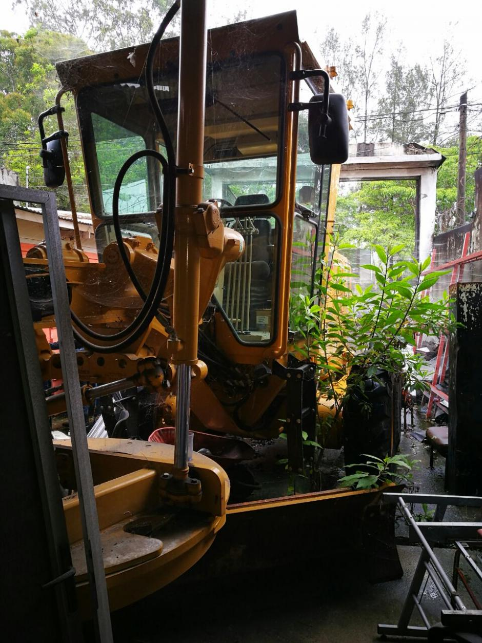 Entre los bienes inmovilizados figuran dos máquinas usadas para la construcción. (Foto: MP)