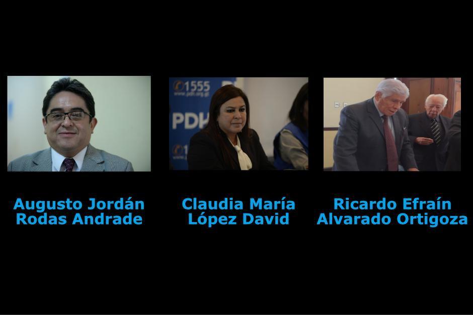 Ninguno de los tres candidatos tiene el respaldo necesario. (Foto: Archivo/Soy502)
