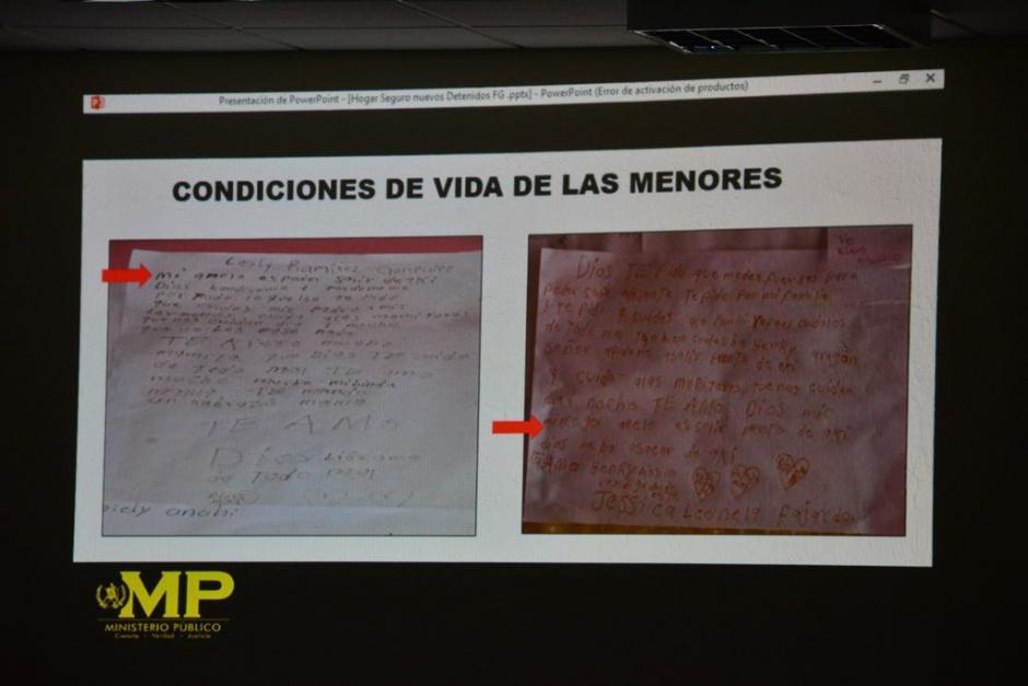 El MP presentó las pruebas donde destacó que las adolescentes eran maltratadas en el interior. (Foto: Jesús Alfonso/Soy502)