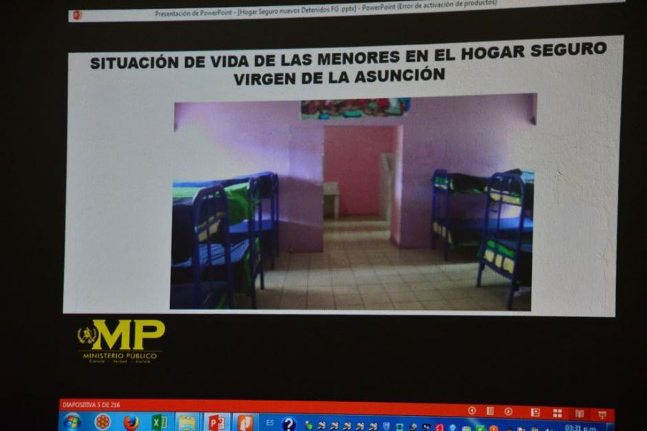 Se detalló las condiciones en las que vivían las adolescentes. (Foto: Jesús Alfonso/Soy502)
