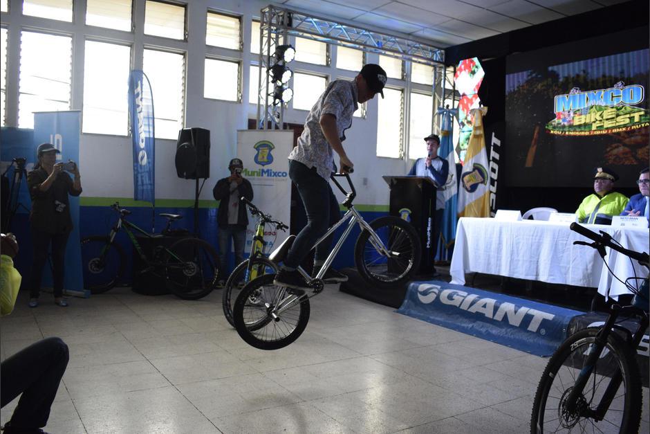 El cierre de la actividad será una exposición de BMX. (Foto: Javier Grazioso/Soy502)