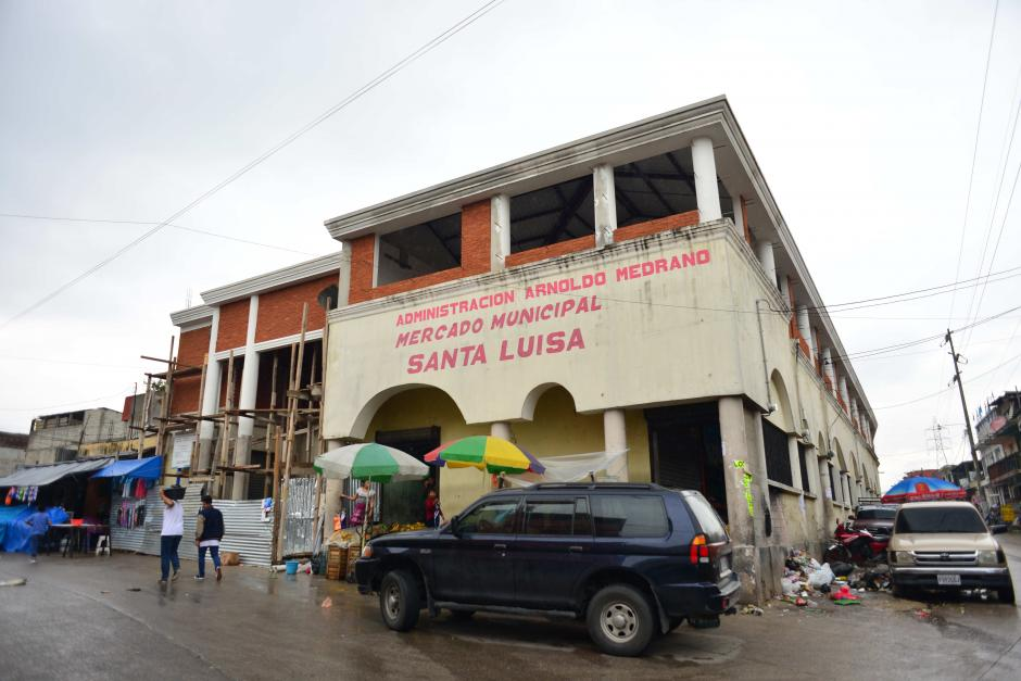 El inmueble está ubicado en el mercado de la colonia Santa Luisa. (Foto: Jesús Alfonso/Soy502)