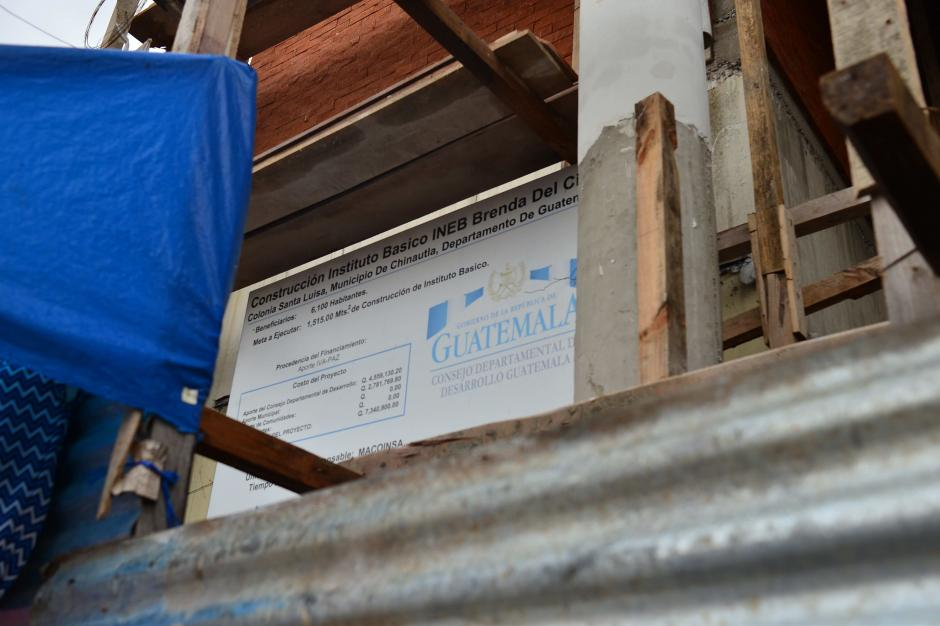 El instituto llevará el nombre de la alcaldesa de Chinautla. (Foto: Jesús Alfonso/Soy502)
