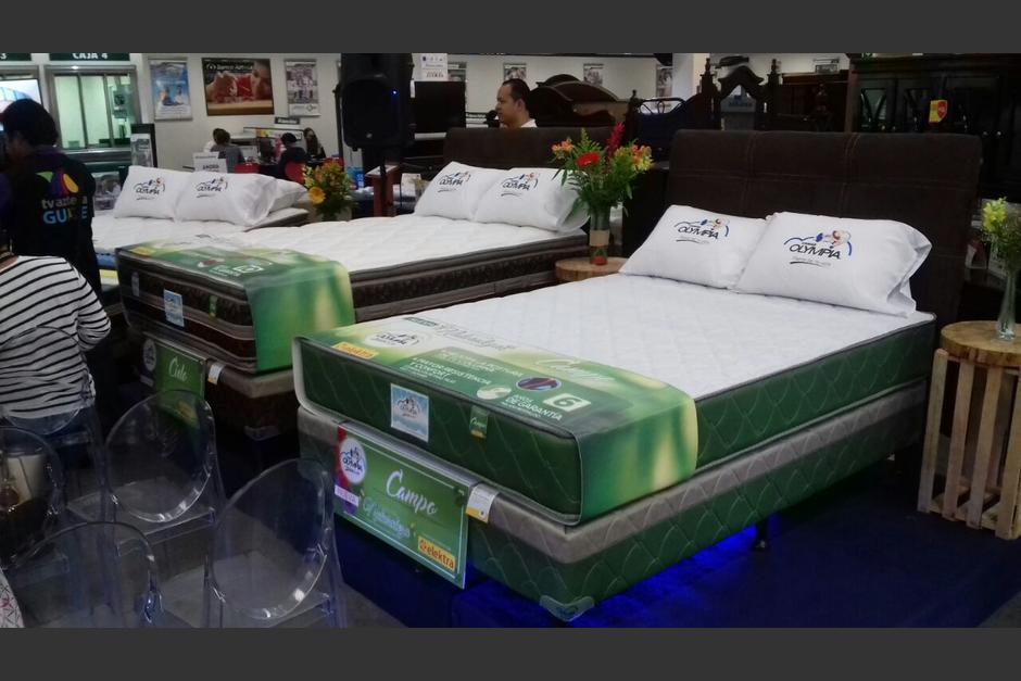 Se presentan tres modelos de camas olympia soy502 for Cama olympia