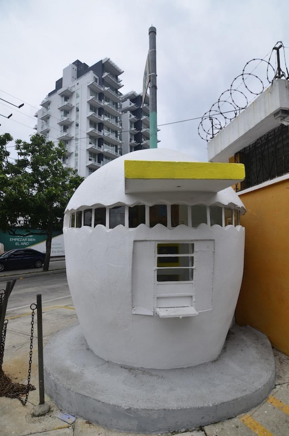 Tiene la forma de un huevo. (Foto: Selene Mejía/Soy502)