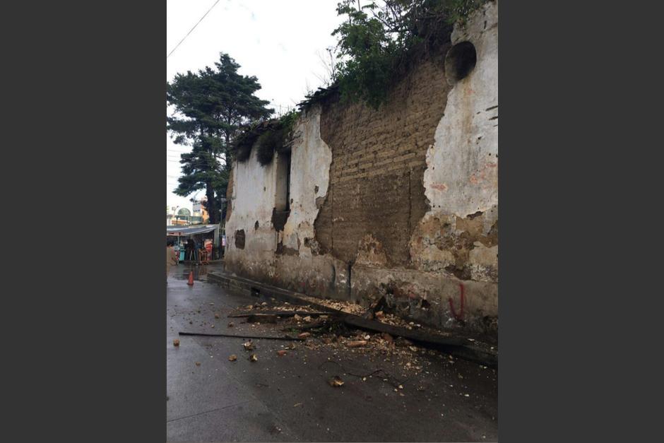 El sismo causó daños en varios puntos del país. (Foto: Conred)